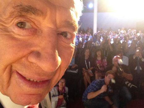 selfie peres