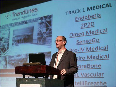 Trendlines Medical CEO Dr. Eran Feldhay speaking at MIXiii